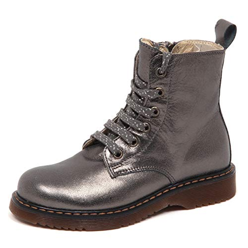 E1454 Anfibio Bimba Grey Twin-Set Simona BARBIERI Grigio Laminato Boot Kid Girl [38]