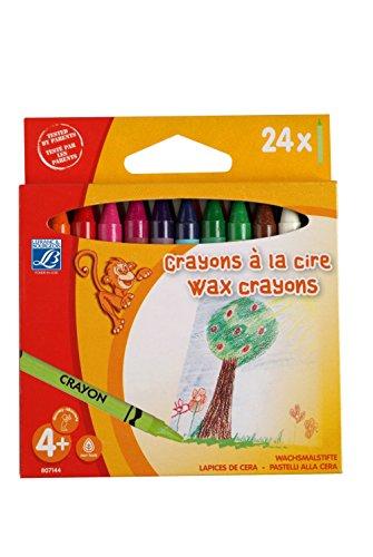 Lefranc & Bourgeois - Pack de 24 lápices a la cera de 8 mm