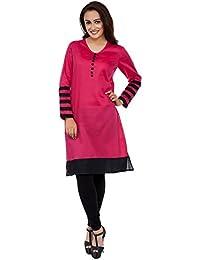 Kurtis For Women (Latest Low Price Designer Party Wear Pink Cotton Kurtis For Women/Girls Kurtis For Women Below...