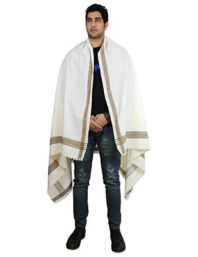 Preisvergleich Produktbild Stammes-Design Mens Meditation Schal und Wrap Kleid aus Wolle