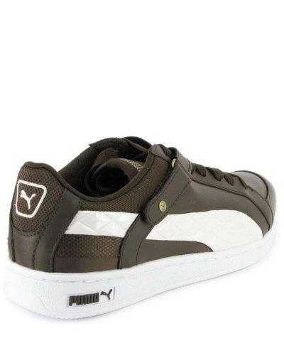 Puma, Sneaker uomo Marrone (Brown White)