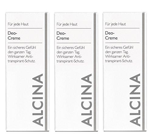 Alcina Deo-Creme 3x50ml.
