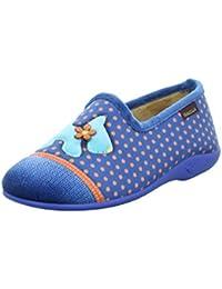 Francesca Damen Hausschuhe/Pantoffeln Größe 39 Blau (Blau)