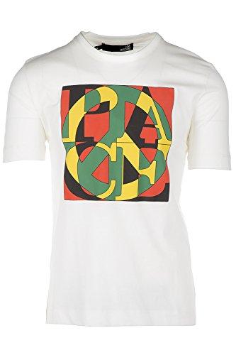 Love Moschino t-shirt maglia maniche corte girocollo uomo bianco EU M (UK 38) M 4 732 05 M 3661 A0