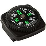 Generic Imported Compass With Holster Watch Band Paracord Bracelet Compass Black Color