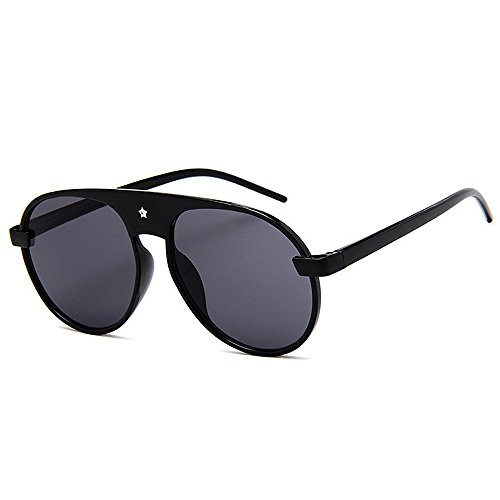 Ppy778 Retro Steampunk Style Unisex inspiriert Runde Metallkreis polarisierte Sonnenbrille für Männer und Frauen (Color : Green)