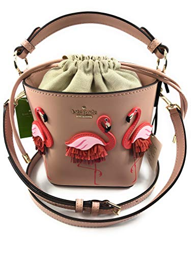 Flamingo Pippa By The Pool Drawstring Bucket Bag Warmvellum ()