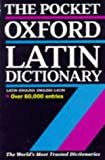 The Pocket Oxford Latin Dictionary