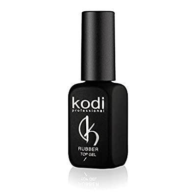 Professional Rubber Top Gel By Kodi | 12ml 0.42 oz | Soak Off, Polish Fingernails Coat Kit | For Long Lasting Nails Layer | Easy To Use, Non-Toxic & Scentless | Cure Under LED Or UV Lamp