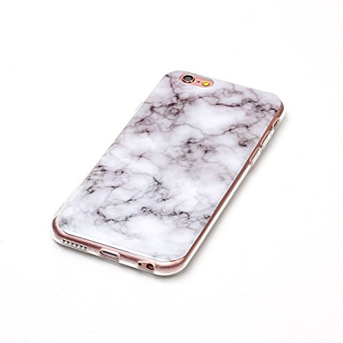 Yaking® Apple iPhone 6/6S Coque Silicone TPU Case Cover Gel Étui Housse pour Samsung Galaxy S7 Edge 11-F