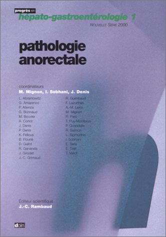 Pathologie anorectale