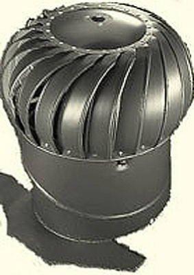 Turbine Vent (12BLK ALU Turbine/Base by Air Vent)