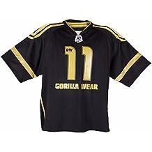 Gorilla Wear Gw Athlete T-Shirt Dennis Wolf Black/Gold-XXXXL