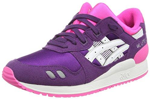 Asics - Gel-lyte Iii Gs, Sneaker basse Unisex – Adulto Viola (Purple/White 3301)