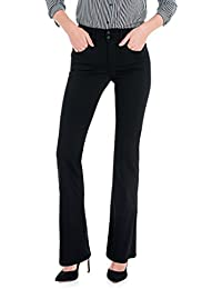 SALSA Pantalones negros Push In Secret Bootcut