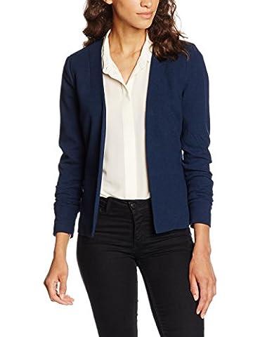 PIECES Damen Pcnattie Noos, Blau (Navy Blazer), 42 (Herstellergröße: XL)