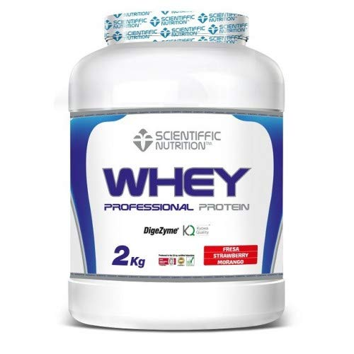 SCIENTIFFIC NUTRITION Professional WHEY Protein 2 KGS TU Cookies Cream