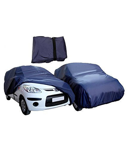 Gursudarshan- Premium Quality Waterproof parachute Blue Car Body Cover for Chevrolet Beat -(With Side Mirror Pockets)