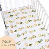 PENVEAT Neugeborene Baby matratze bettbezug Spickzettel Baby Bettwäsche Kinder bettwäsche Weiche Cartoon Baumwolle Druckbogen BMT021, Q