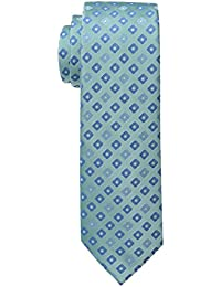 Haggar Men's Tall Performance Extra Long Neat Necktie
