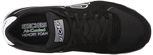 Skechers (SKEES) Og- 82, baskets sportives homme noir (BKW)