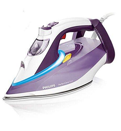 Philips PerfectCare Azur GC4912 2400-Watt Steam Iron (Purple)