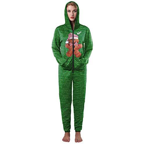3a84305a7a6 JCH Navidad Occident 3D Print Oso Verde Otoño Invierno Batas Poliéster  Spandex camisa de fondo para