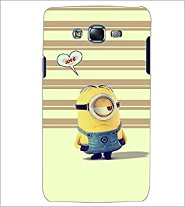 PrintDhaba LOVE D-6592 Back Case Cover for SAMSUNG GALAXY ON7 (Multi-Coloured)