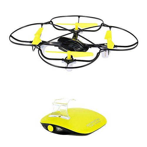 Goolsky TECHBOY TB-802 2.4GHz de control remoto de un solo botón de control de movimiento Drone RC Quadcopter con 360 ° Flips función