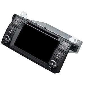 Smarstar 6.5pouces 2 din Écran tactile dans la voiture Autoradio 3G DVD lecteur GPS pour BMW E46
