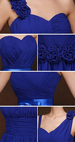 drasawee robe bustier courte en mousseline de soie robe de soirée Junior Homecoming robes Bleu Marine