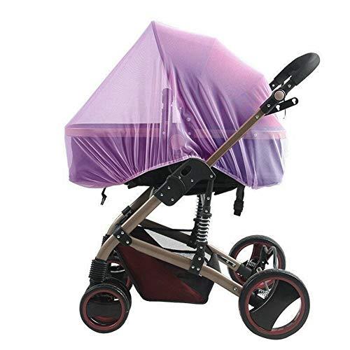 Mooyod - Zanzariera Universale per Passeggino, seggiolino Auto, Protezione dagli Insetti Purple