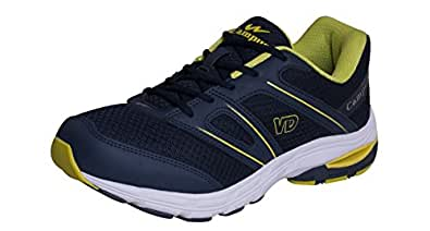 Campus Men's Yellow Synthetic Running Shoes ( 3G-379-BLU-YELL-6 ) - 6