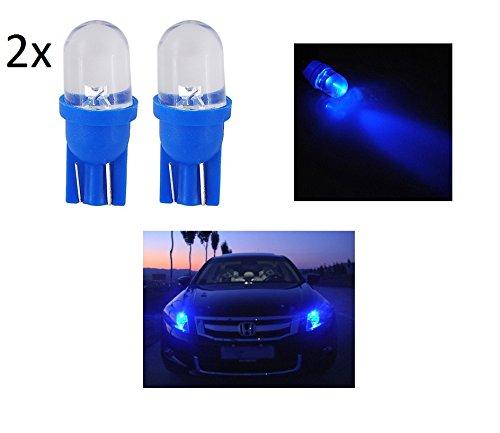 2x luci di posizione lampada led blu blue t10 lampadina for Lampadine led per auto