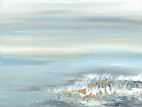 Art Maison Canada Blue Charmer I Leinwand-Wandkunst, Canvas, Gray, Yellow, 24X30