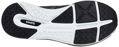 Puma Damen Pulse Ignite XT Hallenschuhe Schwarz (Black-White)