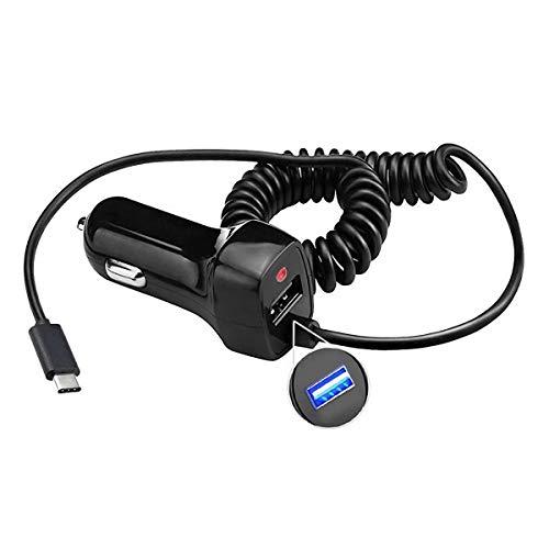 Kfz-Ladegerät mit USB Typ C 3.1 für Nintendo Switch