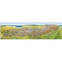 Das grosse Alpenpanorama Sommer, Poster (MAIRDUMONT Panoramen)