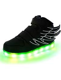 Lovelysi Unisex Bambini Ragazzi Ragazze Scarpe Sneakers LED Lampeggiante 4cffbd6937f