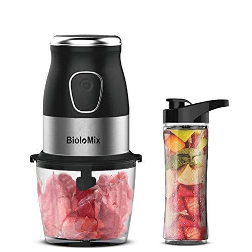 Tragbare persönliche Mini Mixer Juicer High Speed   Multi-Funktions-500W Food Processor Fleischwolf Dry Grinder 900ml Chopper, leicht zu reinigen und BPA-frei