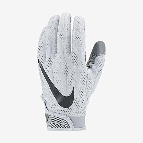 Nike Superbad 4.0 American Football Handschuhe - weiß Gr. S