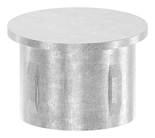 Fenau | Stahlstopfen | flach | für Rohr Ø 42,4 mm | Stahl (Roh) S235JR - Stahl-rohr-kappen