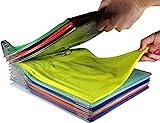 Organizer Per Armadio, UM Closet Organizer Camicia Cartella   Dimensioni Regolari, 20-pack
