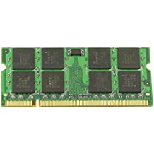 SODIAL(R) Memoria adicional 2GB PC2-5300 DDR2 677MHZ Memoria para ordenador portatil PC