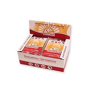 HeatPaxx Körperwärmer-/Dünne Wärmepflaster (für punktgenaue Wohlfühlwärme, 15 oder 40 Wärmespender im Vorteilspack)
