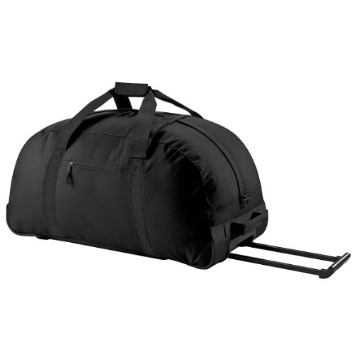 Bagbase - Sac de voyage à roulettes (Taille unique) (Noir)