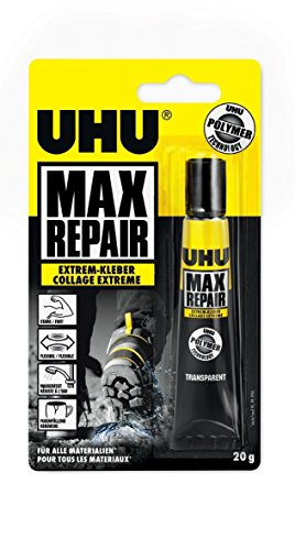 Uhu 45820 Max Repair - Extrem-Kleber, 20 g Tube (5er Spar-Pack)