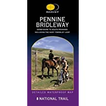Pennine Bridleway: Derbyshire to South Pennines (Route Map Series)