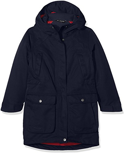 Vaude Kinder Kids Chacma Parka Girls Jacke, Eclipse, 134/140