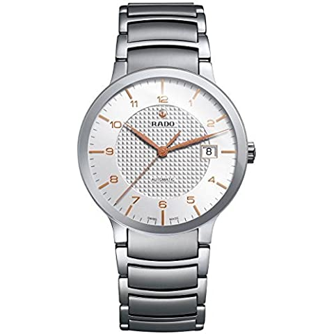 Rado R30939143de la mujer Centrix analógica Swiss reloj de acero inoxidable automático de Rado